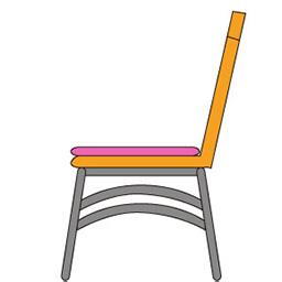 初心者が始めるメタセコイア 作品 にゃっほい屋 の椅子